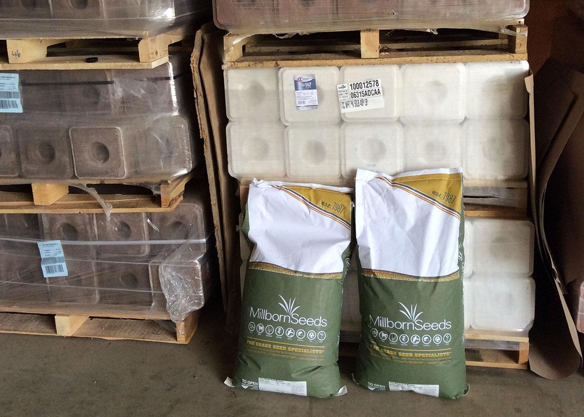 Salt blocks available at Faulkton Grain & Feed